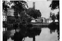 Historický snímek Podhradí na Ašsku