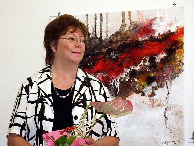 Výstavu tvorby Bärbel a Horst Kiessling, manželů z německého Marktredwitz,  mohou návštěvníci vidět ve františkolázeňské galerii Brömse.