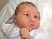 JAN CHURÝ se narodil v úterý 29. září ve čtyři hodiny. Vážil krásných 4680 gramů a měřil 54 centimetrů. Tříletá Anetka, skoro dvouletá Nikolka a tatínek Jan se těší doma v Chebu na návrat maminky Blanky a malého Honzíka.