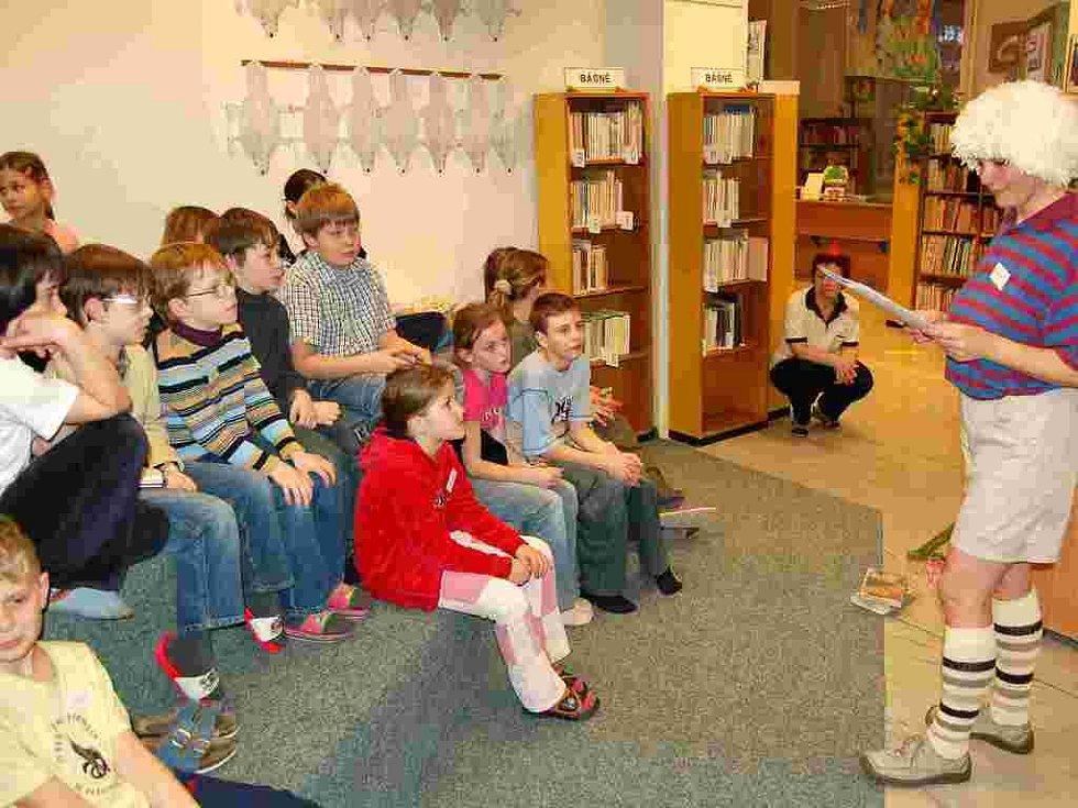 Také v Chebu měly děti možnost prožít zajímavou Noc s Andersenem v dětské knihovně