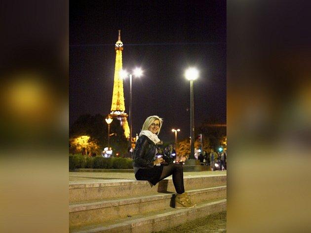 V PAŘÍŽI ŽILA Lenka Nadaire sedm let.