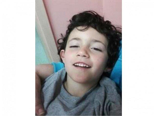 Pohřešovaný šestiletý Tomáš.