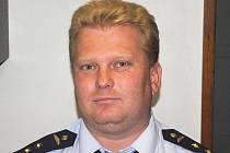 Martin Kasal, mluvčí hasičů.