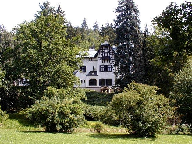 Vila Lil v Mariánských Lázních