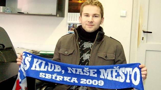 Fotbalista Aleš Rolník.