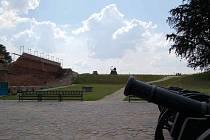 Nádvoří chebského hradu