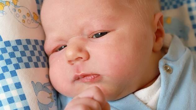 VÁCLAV MICHÁLEK se narodil v pondělí 12. srpna v 10.34 hodin. Na svět přišel s váhou 3 670 gramů. Z malého Vašíčka se raduje doma v Chebu sestřička Ivetka spolu s maminkou Veronikou a tatínkem Tomášem.