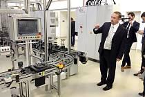 SPOLEČNOST BWI slavnostně otevřela svůj nový závod postavený v chebské průmyslové zóně.