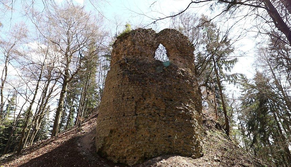 Hrad Kynžvart, strážní věž