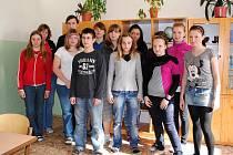 Třída 9.A Základní školy Hlávkova v Aši