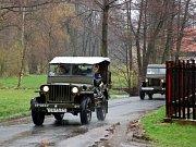 Ve Skalníkovo sadech v Mariánských Lázních si lidé připomněli 63. výročí osvobození