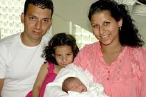 MELÁNIE ČONKOVÁ přišla na svět v pondělí 16. května ve 14.25 hodin. Vážila 3310 gramů a měřila 49 centimetrů. Doma v Chebu se z malé Melánie těší maminka Veronika, tatínek Radek a sestřička Vanesska, která přišla na návštěvu do porodnice.