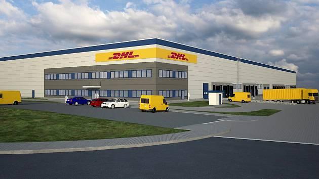 V PRŮMYSLOVÉM PARKU vyroste distribuční centrum o velikosti 13 600 metrů čtverečních pro německou společnost DHL.