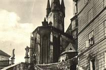 Původní podoba věží chebského chrámu svatého Mikuláše