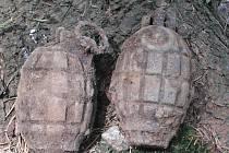 Nález staré munice na Chebsku