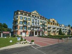 Hotel Pawlik ve Františkových Lázních.