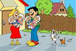 Vtipů napsal a nakreslil Mirek Vostrý z Chebu několik tisíc. Pobaví každý den řadu lidí nejen v časopisech, ale i na sociálních sítích. A je také jedním z organizátorů Festivalu kresleného humoru, který se koná ve Františkových Lázních.