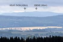 Panský vrch: uvidíte lázně, Dyleň i sto kilometrů dalekou Šumavu