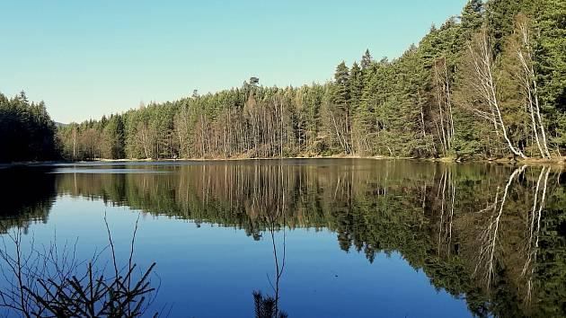 Šnecký rybník.