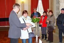 Tou nejočekávanější návštěvnicí se stala účastnice zájezdu z Budapešti, Dudás Györgyné Ildikó.
