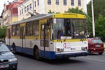 Trolejbus v Mariánských Lázních