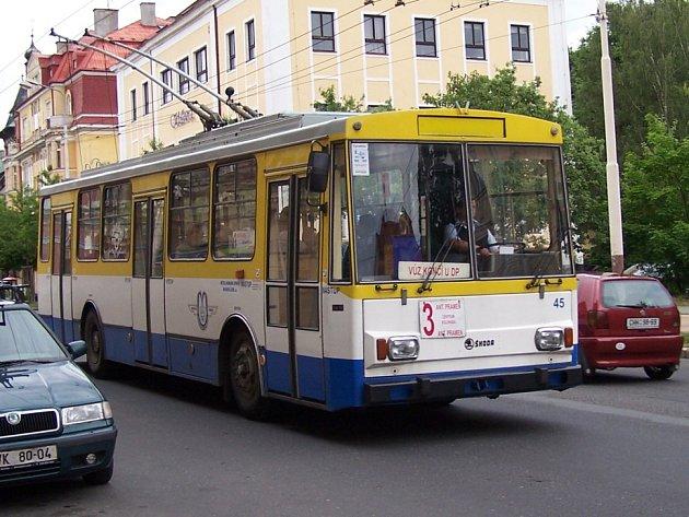 Trolejbusy v Mariánských Lázních mají tradici. Je ale možné, že budou nahrazeny elektrobusy.
