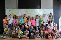 Příměstský tábor, který pro ně připravil Dům dětí a mládeže Sova Cheb