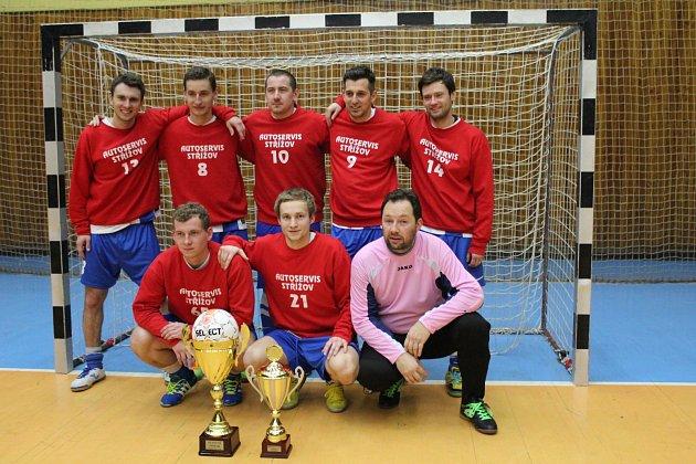 Vítězný tým Phoenix Cupu 2015 - Autoservis Střížov.