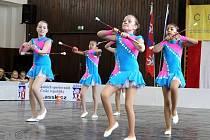 CHEBSKÉ MAŽORETKY se na Mezinárodní soutěži mažoretek a twirlingu států Evropské unie staly mistryněmi.