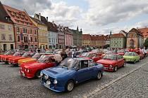 Setkání majitelů vozů Škoda 110R v Chebu.