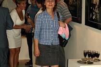 Slavnostní vernisáž výstavy Fabia Sgroi v chebské galerii G4
