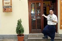 Galerie a kavárna U Kamennýho červa v Chebu