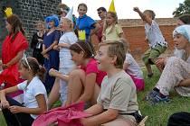 Děti na Chebském hradě