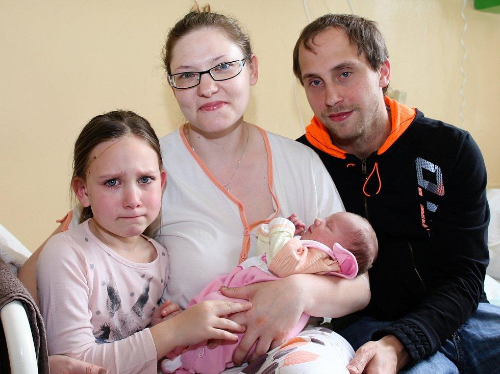 Miminka z Chebska - 15. týden