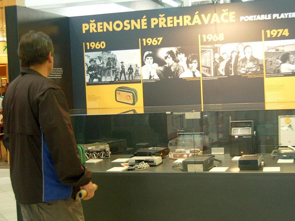 MUZEUM  spotřebičů nabízí k zhlédnutí téměř sto exponátů, k vidění jsou nejen staré televizory, ale například také telefony či magnetofony.
