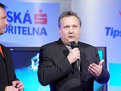 Vyhlášení ankety sportovec roku ve Františkových Lázních.