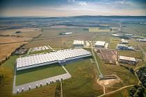 Chebská průmyslová zóna.