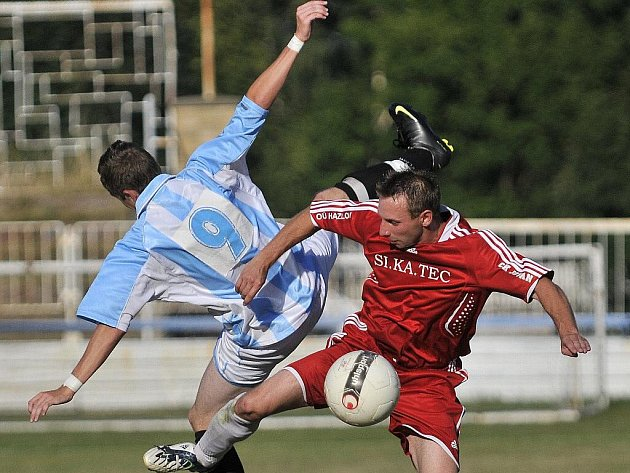 Union Cheb prohrál v derby s Jiskrou Hazlov 1:2