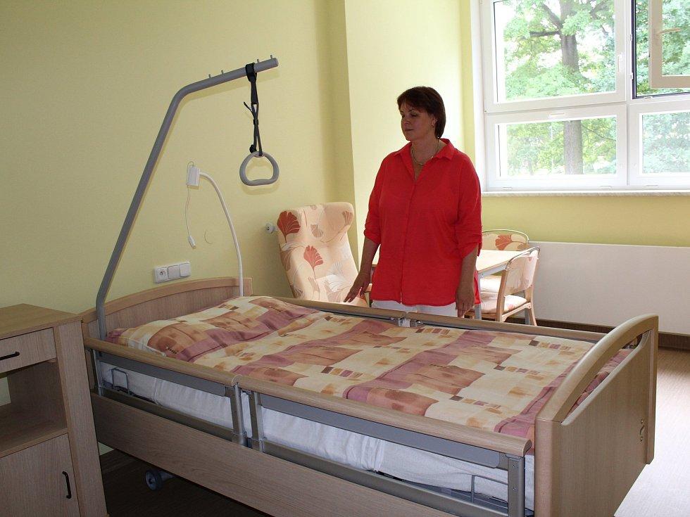 První část rekonstrukce domova pro seniory je dokončena.