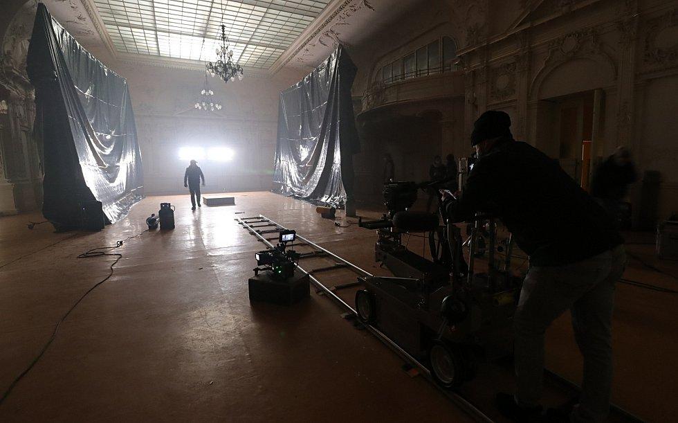 Miramonte v Mariánských Lázních a natáčení klipu.