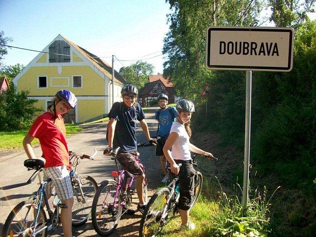 Cyklovýlet pořádaný DDM Sova Cheb