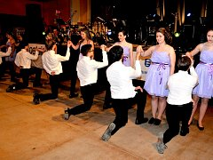 Maturitní ples ašského gymnázia