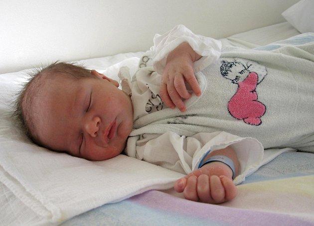 MATĚJ  TUREK  ze Starého Rybníka se narodil v chebské porodnici 5. ledna ve 12.25 hodin. Po narození měřil 53 centimetrů a vážil 3,9 kilogramu