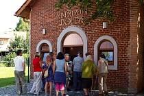 Otevření muzea ve Třech Sekerách.