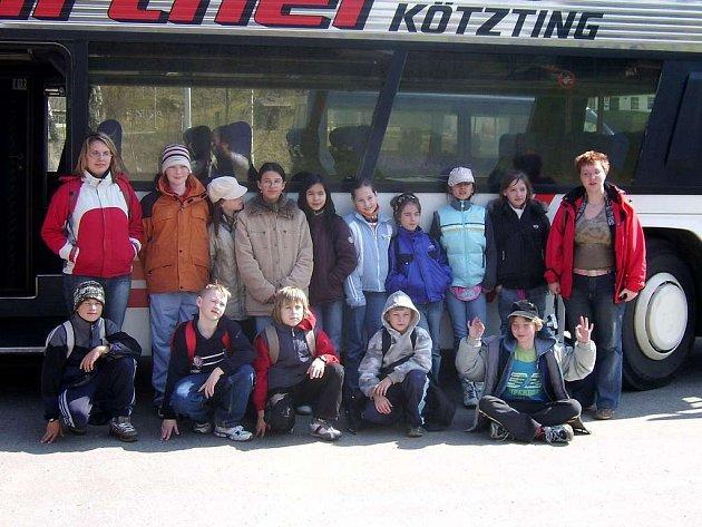 Školáci z chebské základní školy v Americké ulici navázali přítelství s dětmi z Německa