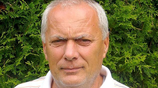 Včelař Václav Voříšek.