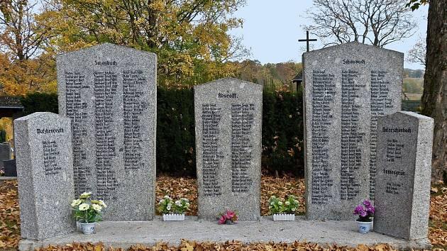 Pomník obětem 1. světové války na městském hřbitově v Lubech je již třetím v řadě, který se podařilo v posledních letech v okolí Lubů obnovit.