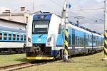 Nové vlaky RegioPanter vozí od úterý cestující mezi Plzní a Karlovými Vary