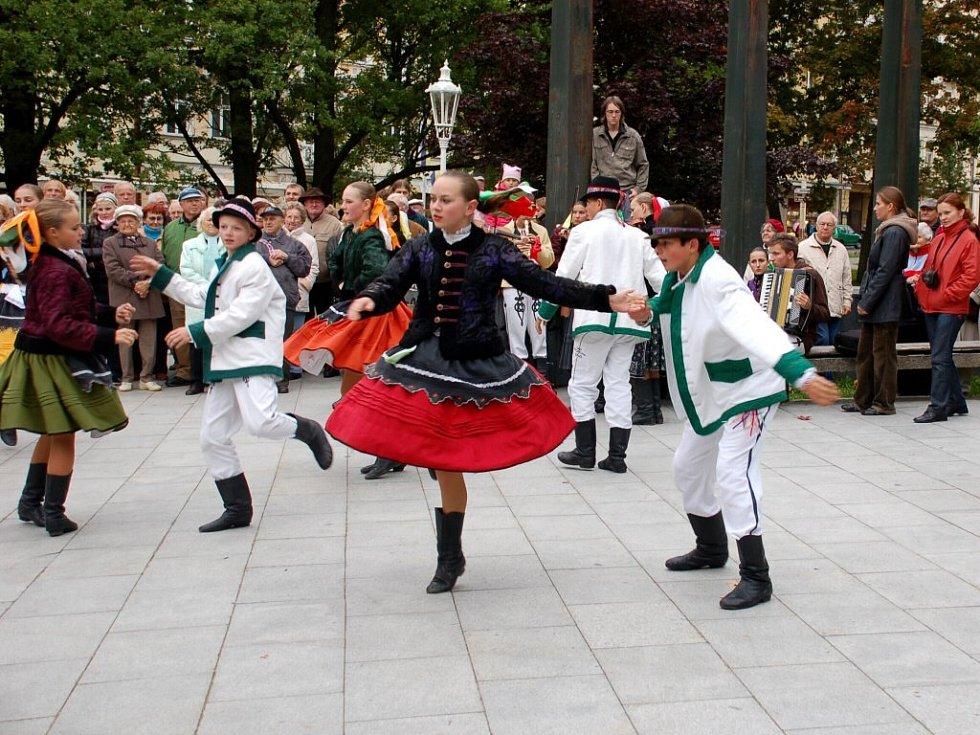 Folklórní festival Mariánský podzim 2008 v Mariánských Lázních