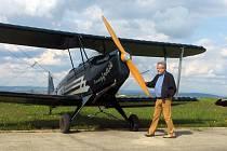 NĚMECKÝ PILOT GERALD HASELMANN (na snímku)  vítá snadnější cestování po Schengenu. Podle jeho slov bude do Chebu jezdit  častěji.